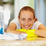 Mold Cleaning Lady