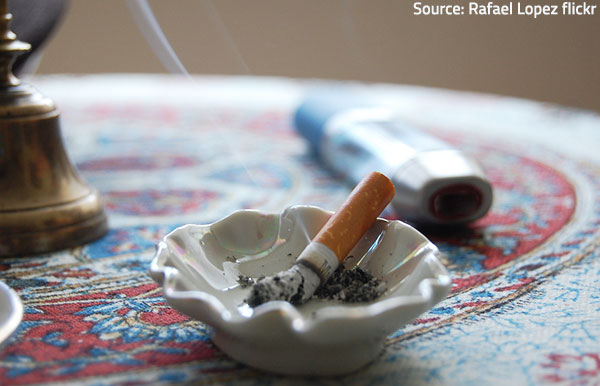 How To Get Cigarette Smoke Odor Out Of Your Home
