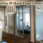 Benefits of professional office floor cleaning.