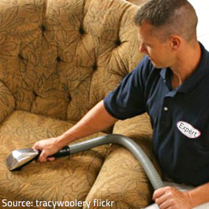 Professional upholstery cleaning yields astonishing results.
