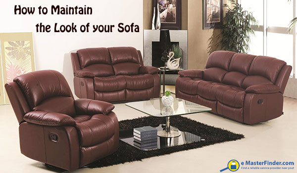 How to keep your sofa looking new.