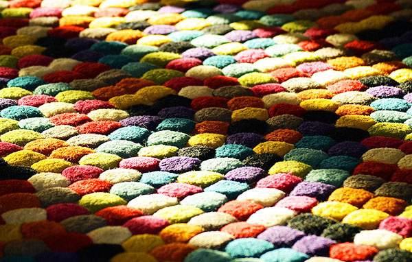 Choosing carpet colors can be great fun.