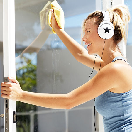 Cleaning the windows is among the most important items on your post construction cleaning checklist.