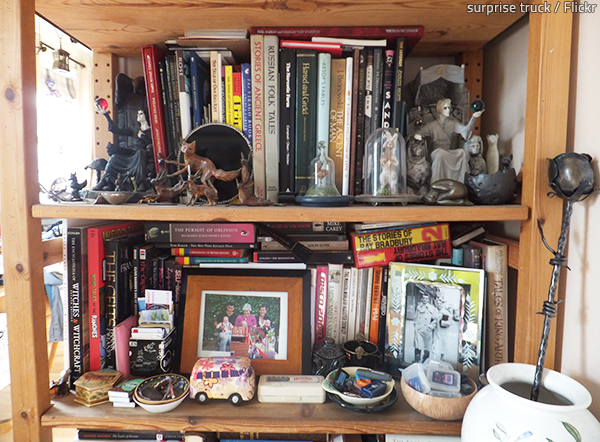 A bit of clutter is normal.
