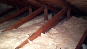 Attic-Insulated