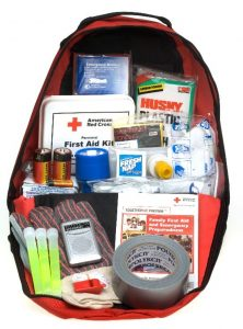 Always keep a fire safety kit in case you are unable to evacuate right away.