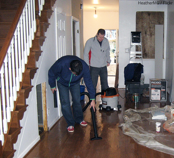 The water damage repair cost depends on the extent of the damage.