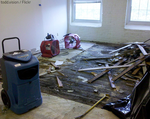 The final water damage restoration cost may be quite high.