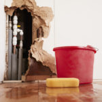 Damaged-Wall-Burst-Pipes-Water-Damage