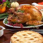 Thanksgiving-Dinner-Food-Turkey-Pie